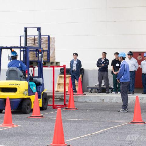 フォークリフト安全運転実技講習